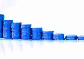 Gráfica Monedas Azules