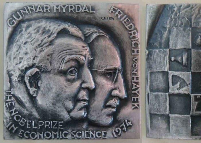 Nobel 1974: Hayek y MIrdal