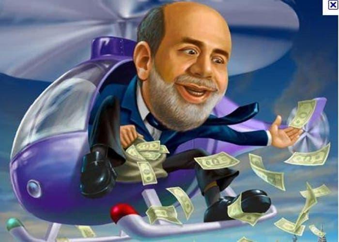 Ben Bernanke y la máquina de regalar dinero