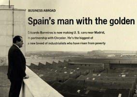 La historia de Eduardo Barreiros es una historia de éxito empresrial