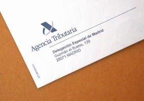Logo y Membrete de una delegación de la Agencia Tributaria