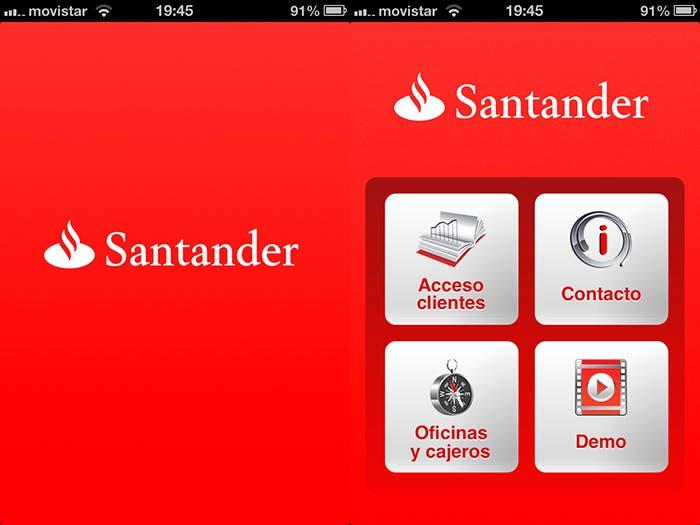 App banco Santander