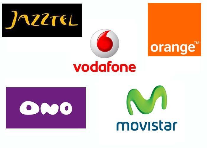 Algunas compañías telefónicas
