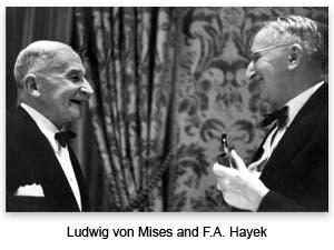 Mises and Hayek
