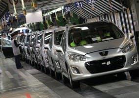 La crisis del automóvil afecta a PSA Peugeot Citröen