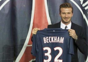 Llegada Beckham-PSG