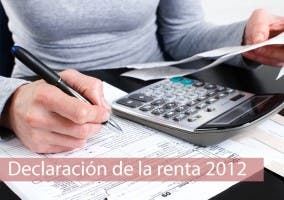 Especial Declaración de la renta 2012