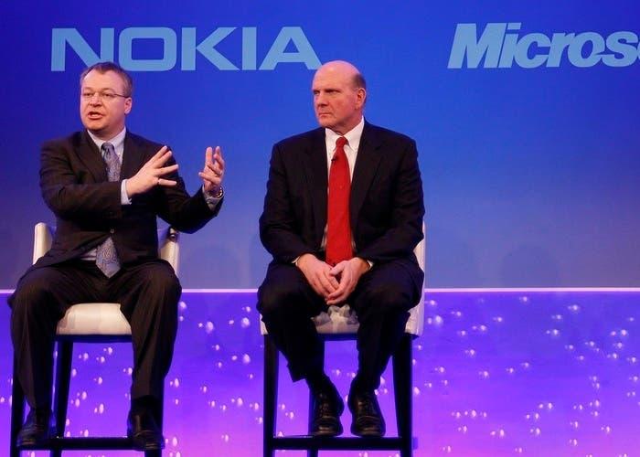 CEOs Nokia Microsoft