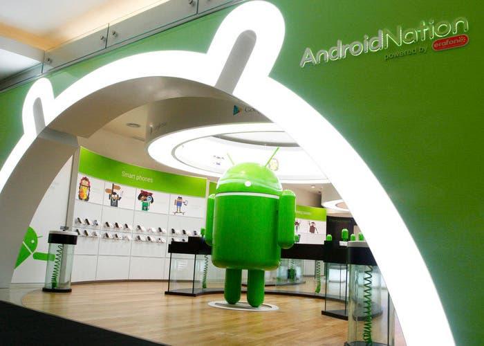 Tiendas de Google para Android