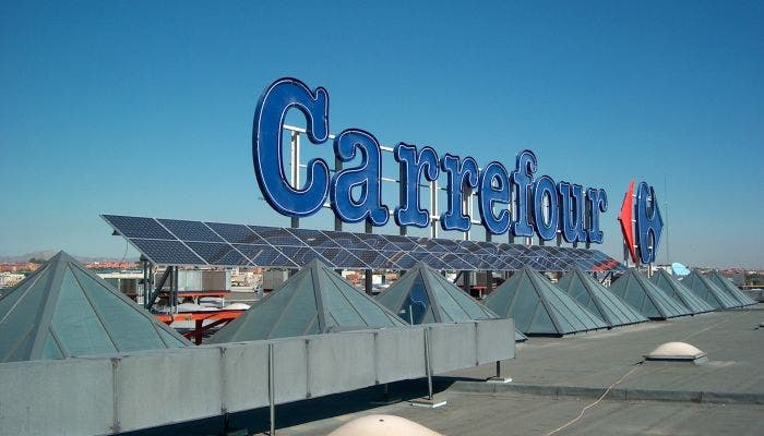 Carrefour pierde en 2012