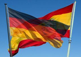 Banderas España y Alemania