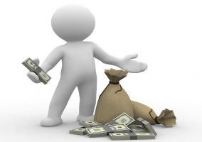 Figura mostrando dinero