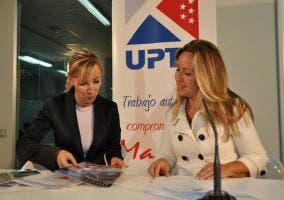 Trinidad Jiménez en la UPTA