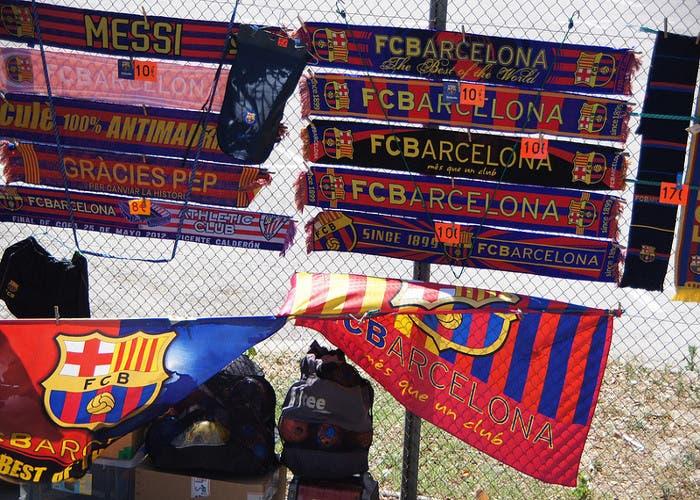 Duedas fútbol: FC Barcelona