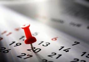 chincheta calendario