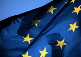 Bandera de la UE, a la que pertenecen 22 países de Schengen