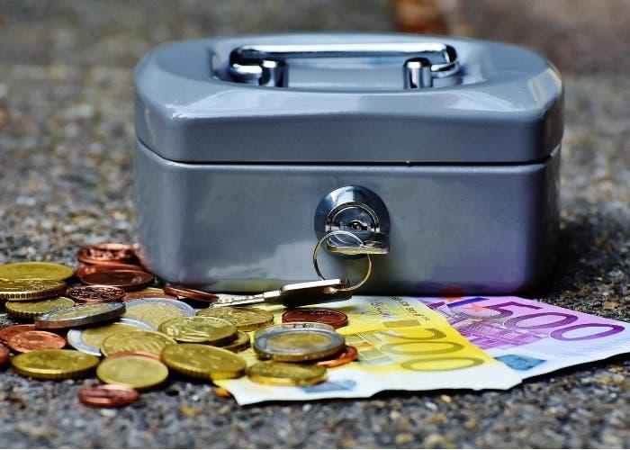dinero, billes y monedas